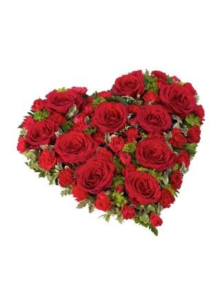 Corazón Funerario Coraje - 982