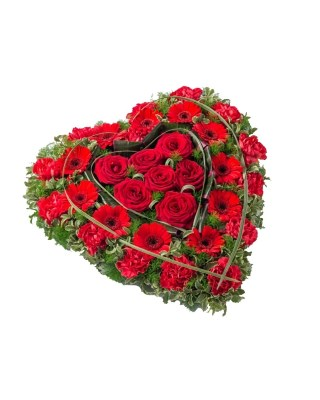 Corazón Funerario Despedida - 983