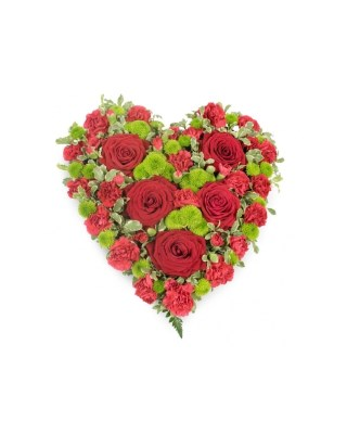 Corazón Funerario Tenacidad - 984