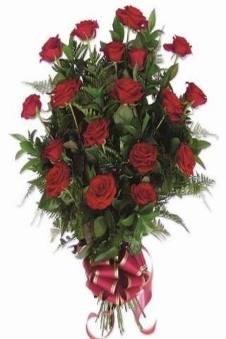 Ramo Funerario 18 Rosas - 963